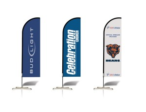 14ft Flex Feather Banner