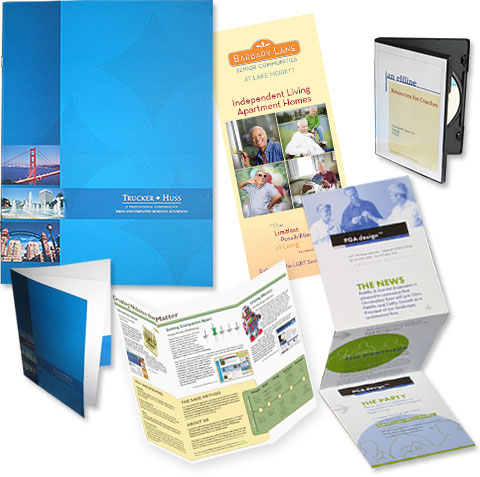 Brochures and Printing Specialties | Fazzari Marketing
